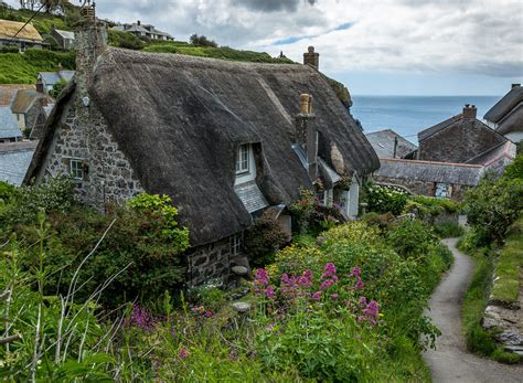 cornwall cottages cadgwith cornwall uk helmut hess flickr