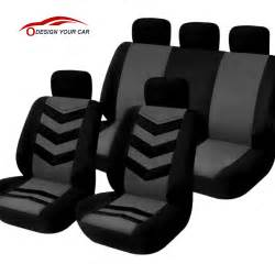 Seat Covers No Headrest Universal Car Seat Cover Set 9pcs Seat Covers Front Seat