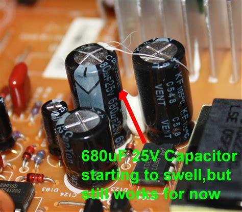 tivo capacitor kit vwvortex lcd monitor repair hpvs19 and capacitors