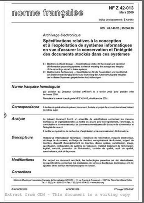 Exemple De Lettre Norme Afnor section 5 mod 232 le de r 233 f 233 rence oais et normes associ 233 es