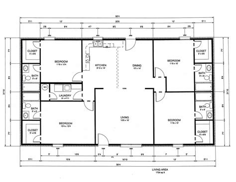 rectangle floor plans rectangular house floor plans house plan 2017