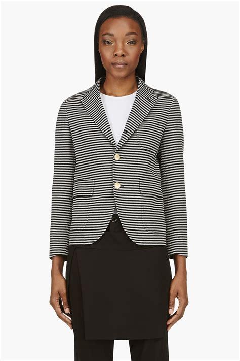 Bj 122 Leopard Dress With Belt Gray junya watanabe pink grey and black stripe jersey summer blazer