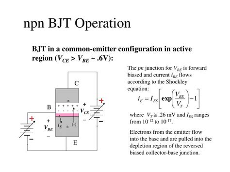 npn transistor lab report ppt electronic circuits laboratory ee462g lab 8 powerpoint presentation id 3294600