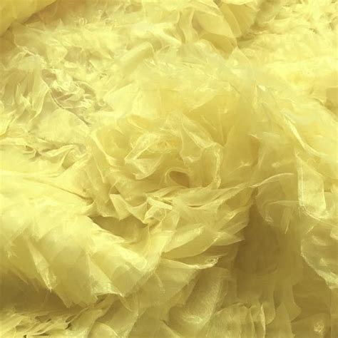 3 In 1 Set Tunik Ity Crepe Organza Bordir Premium gold ruffle organza fabric 19 99 yd polyester fabric