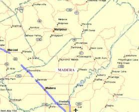 map of madera california madera county california genweb map