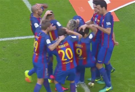 neymar s greatest hits a look at the brazilian soccer valencia fans hit neymar luis suarez with bottles video