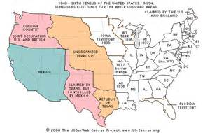 united states map 1840 the usgenweb census project