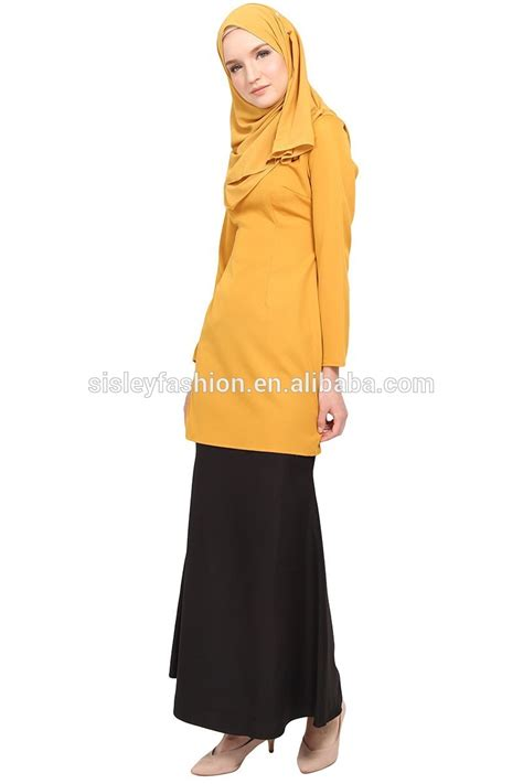 Tunic Blouse Muslim Colour Kode758186 2017 New Design Islamic Clothing Muslim