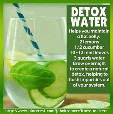 Can You Detox Your With Water by Even Recipes Can Be Presented As Infographics For Exle