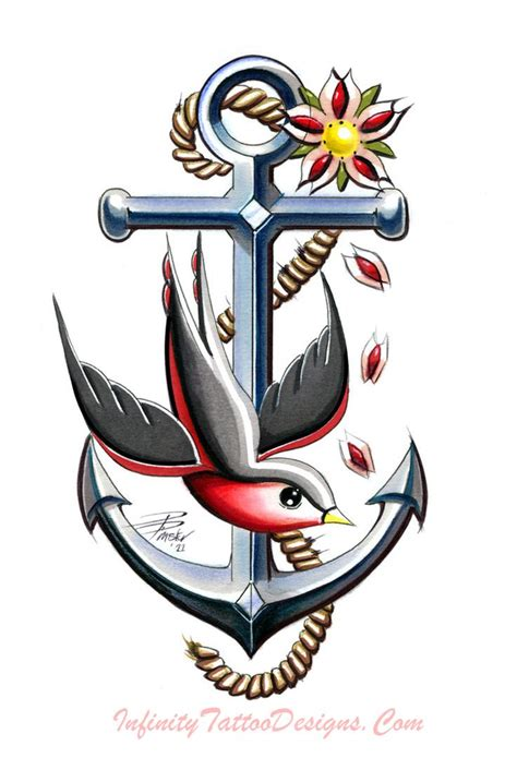 sailor jerry anchor tattoo designs 44 best tattoos images on