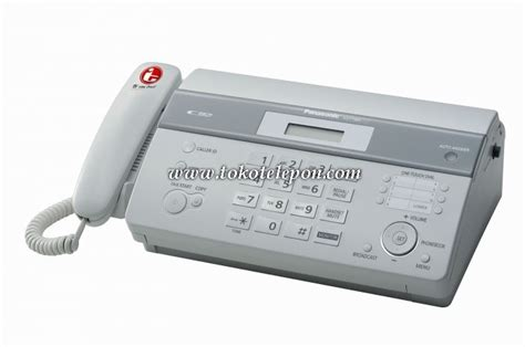 Mesin Fax Panasonic Kx Ft983 jual panasonic fax kx ft983