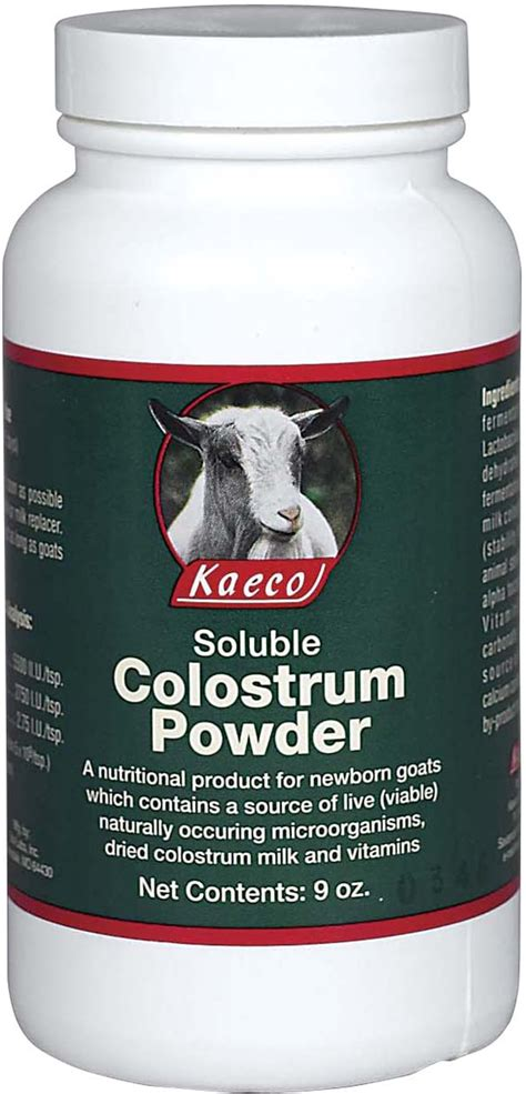 soluble colostrum powder  goats kaeco goat sheep