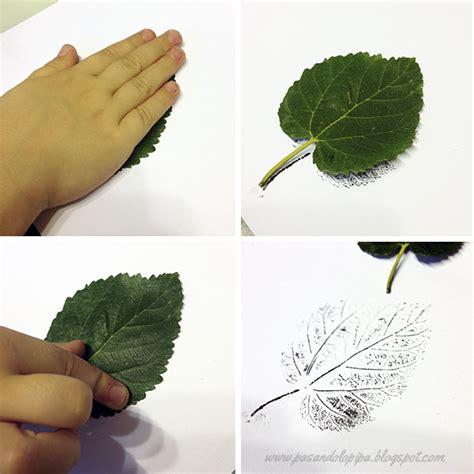 decorar hoja arbol pasos para estar hojas craft manualidades de