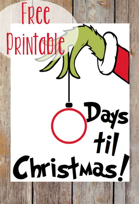 printable grinch ornaments 9 free printable christmas decorations bonus freebie