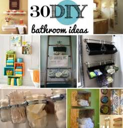 Diy Bathrooms Ideas by 30 Brilliant Diy Bathroom Storage Ideas