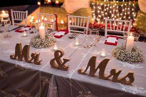 bride and groom table bride and groom table decoration ideas