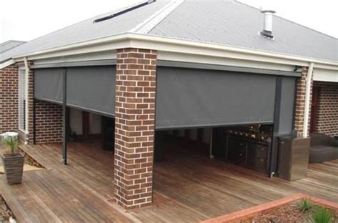 Quick Patio Ideas Ziptrack Blinds Melbourne Statewide Outdoor Blinds