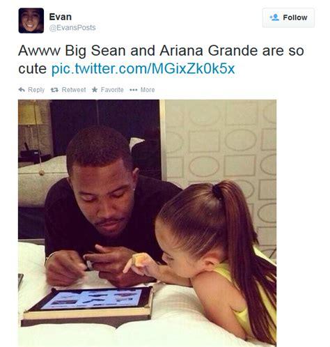 Ariana Grande Meme - trending big sean and ariana grande