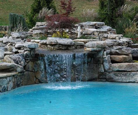 How To Build A Pool Waterfall | best pool waterfalls ideas for your swimming pool