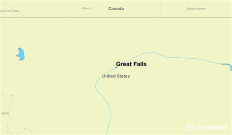 great world city map location where is great falls mt where is great falls mt