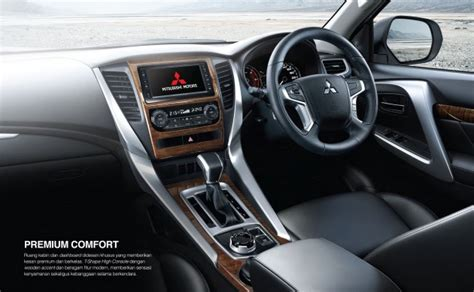 All New Pajero Sport Garnish Lu Belakang L Garnish new mitsubishi pajero sport suv launched in indonesia