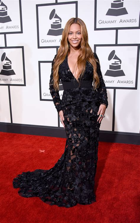 Polls Beyonces Grammy Look by Sheer Dresses At The Grammy Awards 2015 Popsugar Fashion