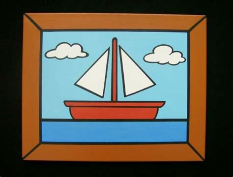 simpsons boat picture jdtoonart cartoon and comic pop art paintings