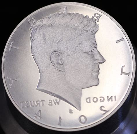 2014 s enhanced uncirculated kennedy half dollar