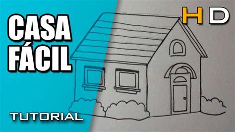 casa facil c 243 mo dibujar una casa f 225 cil y bonita paso a paso dibujo