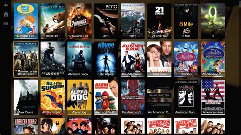 A L In The by Screenshots Plex For Lg Home Theater