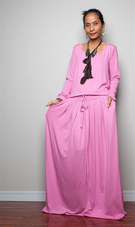 Maxi Pink pink maxi dress dressed up