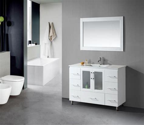 Bathroom Vanities For Small Spaces Bathroom Vanity Ideas For Small Spaces Chromed Wall Mounted Towel Rack Brown Tile Floors
