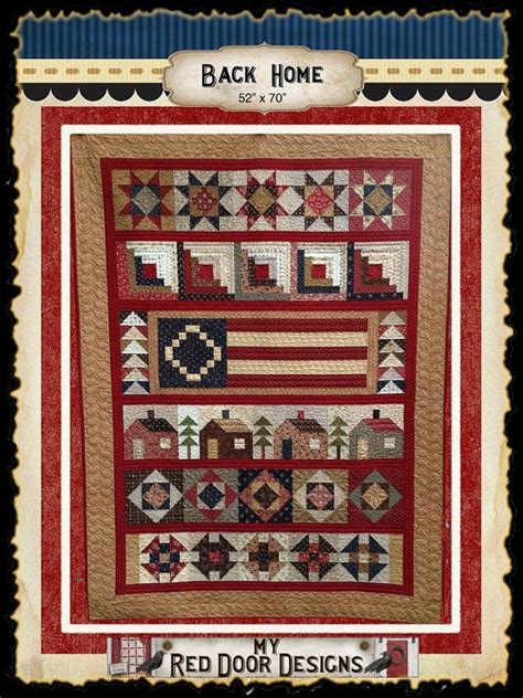 Quilt Home Coupon back home quilt kit by myreddoordesigns on etsy 110 00