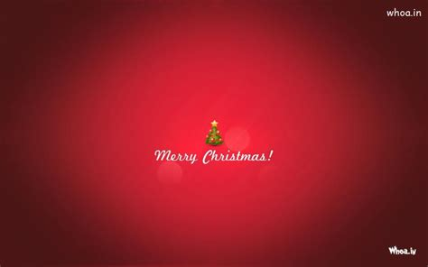 merry christmas plain red hd wallpaper