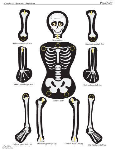 printable paper skeleton best 25 skeleton template ideas on pinterest skeleton