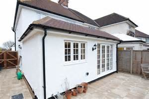 Flat Roof Garage Design semi pitched roof concealed flat roof ideas for the