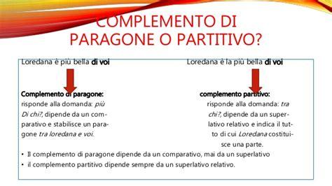 complemento oggetto interno complementi di estensione e paragone