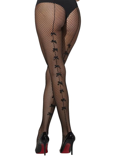 Bow Fishnet Tights fishnet tights with bow all accessories fancy