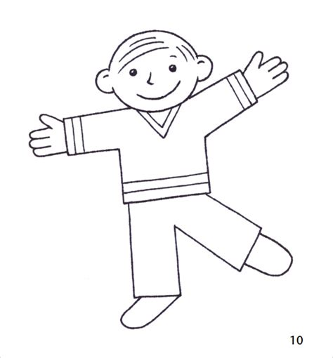 flat stanley template blank sle flat stanley template 10 free documents in pdf word
