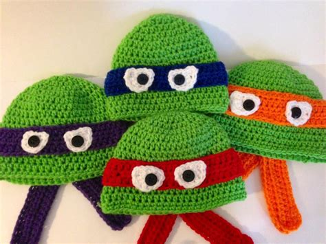 pattern for ninja turtle hat ninja turtle hat pattern by grammabeans craftsy