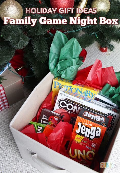 family gift ideas family game night raffle basket ideas images