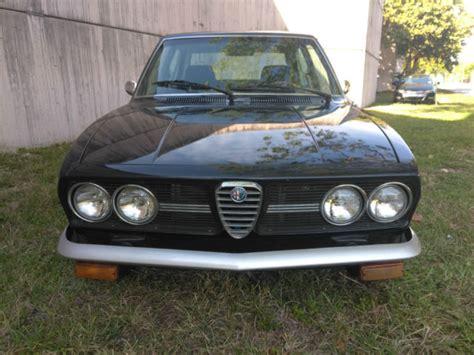 alfa romeo 4 door sedan 1976 alfa romeo alfetta sport sedan 4 door 2 0l for sale