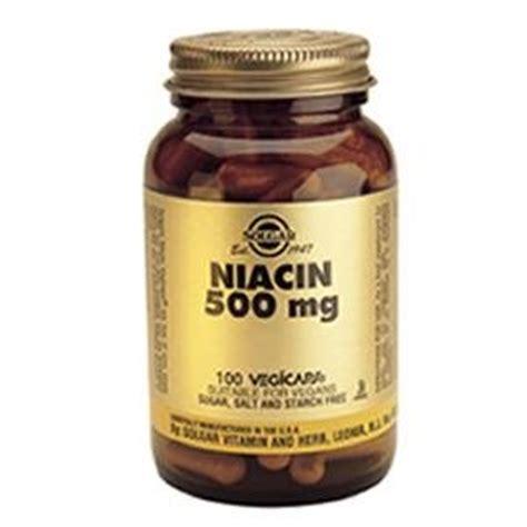 Garden Of Niacin Solgar Niacin 500 Mg Vegetable Capsules Vitamin B3 100