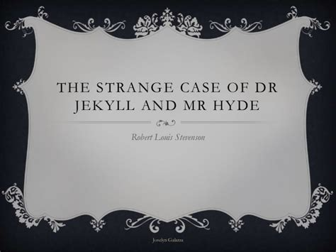 jekyll and hyde chapter 5 themes the strange case of dr jekyll and mr hyde
