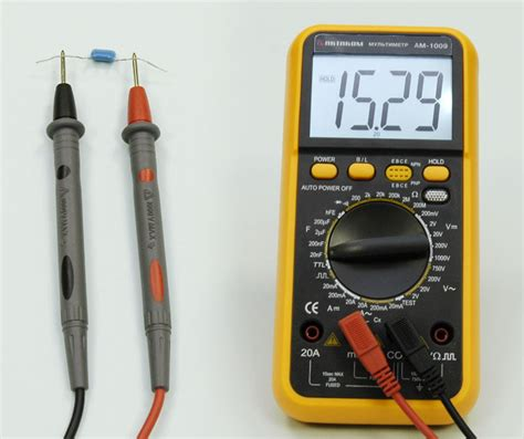 measure capacitor capacity how to measure a capacitor with multimeter 28 images vc6013 3 1 2 digital capacitance