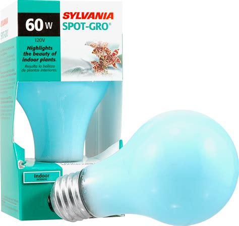 sylvania grow light bulbs sylvania incandescent grow l a19 medium base 120v light