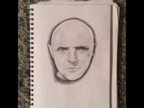 drawing anthony hopkins using the reilly method youtube