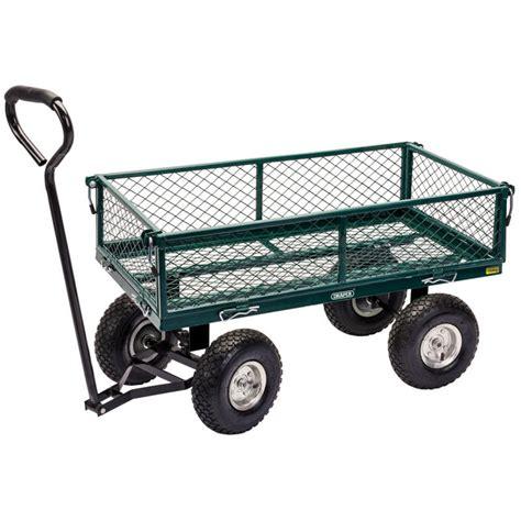 Garden Carts by Draper 58552 Gmc Steel Mesh Garden Cart Trolley Draper