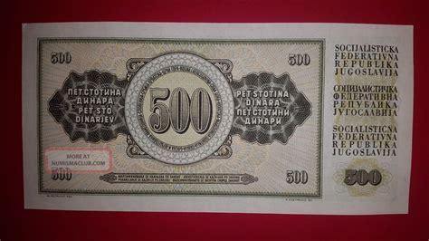 Does Tesla Make Money Nikola Tesla Paper Money Yugoslavia 1970 500 Dinara