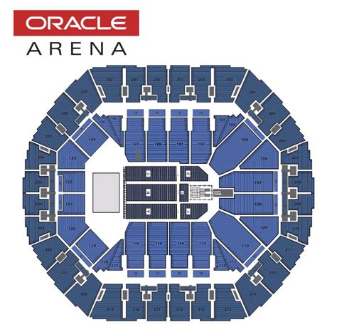 oakland arena seating seating charts oracle arena and oakland alameda county